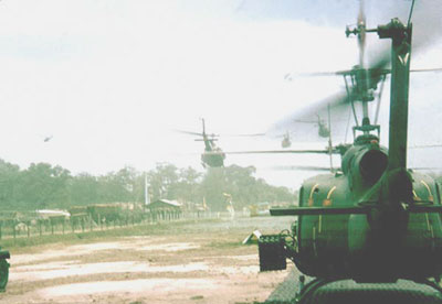 Start of Combat Assault from Tay Ninh Airstrip