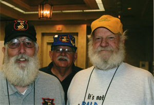 Santa's helpers: John May, Will Drewry & Bill Krell